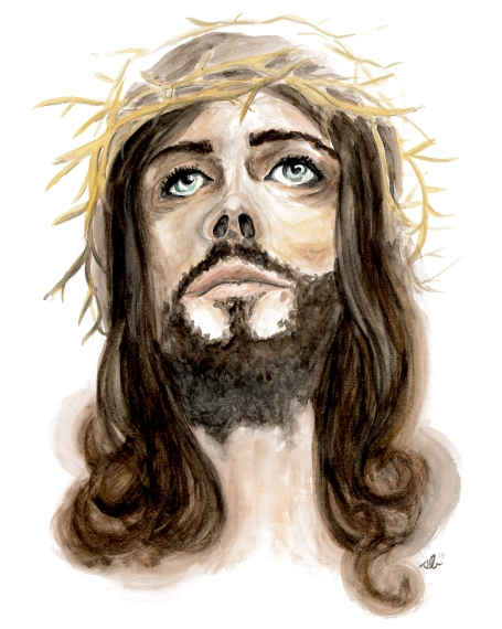 jesus-watercolor-8by10